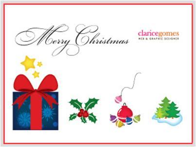 dise ar postales de navidad con vectores gratis manaida